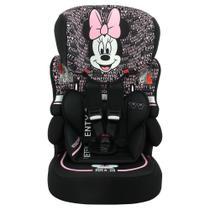 Cadeira Para Auto Disney Kalle Minnie Mouse Typo 9 Até 36 Kg Preto -