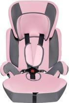Cadeira para Auto DreamBaby Plus de 9 a 36 kg Grafite e Rosa - Styll Baby -