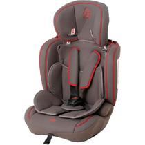Cadeira para Auto Galzerano Ravi - Grafite/Vermelho - Grupos 1, 2 e 3: de 9 a 36 Kg -