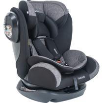 Cadeira para Auto Kiddo Stretch - Melange Preto - Grupos 0+, 1, 2 e 3: 0 a 36 Kg -