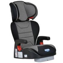 Cadeira Para Auto Reclinável 15 A 36 Kg Ajustavel Cadeirinha Bebê Infantil Protege Burigotto Mesclado Cinza -
