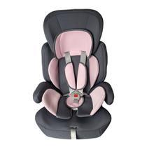 Cadeira para Auto Styll Baby para Crianças de 9 a 36kg - Grafite/Rosa -