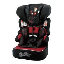Cadeira Para Auto Team Tex Luxe Homem De Ferro Beline Preto/Vermelho -