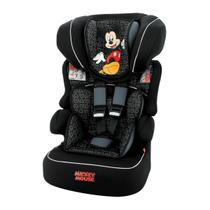 Cadeira Para Auto Team Tex Luxe Mickey Mouse Vite Beline De 9 A 36Kg Preto -