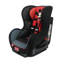 Cadeira Para Auto Team Tex Mickey Mouse Classique Cosmo Preto/Vermelho -