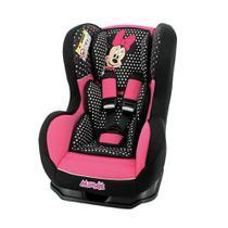 Cadeira Para Auto Team Tex Minnie Mouse Classique Cosmo Preto/Rosa -