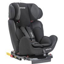 Cadeira para Auto Whoop Apollo - com Sistema Isofix - Preto - Grupos 0+, 1, 2 e 3: 0 a 36 Kg -