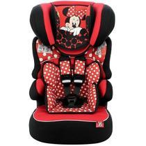 Cadeira para Automovel 09 a 36 KG Disney Beline Luxe Minnie RED Team TEX 588804 -