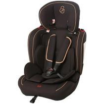 Cadeira para Automóvel Ravi 9 a 36 kg Preto e Camel - Galzerano -