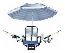 Cadeira Para Barco Giratória Dobrável Confort Com Acessorios - Gear