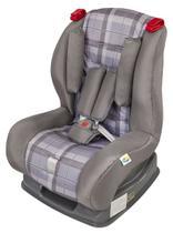 Cadeira para Carro Atlantis Xadrez Cinza Tutti Baby -
