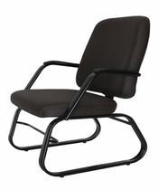 Cadeira para Escritório para Obesos até 200kg Preto - Design Office