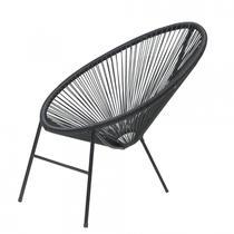 Cadeira para Jardim Caribe Famais Preto -