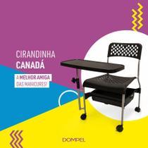 Cadeira para manicure ciradinha canadá dompel -