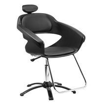 Cadeira para Salão De Beleza Primma Dompel Com Apoio Cabeça -