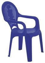 Cadeira plastica infantil estampada catty azul tramontina -