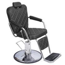 Cadeira Texas Wood Dompel Preto Plus -