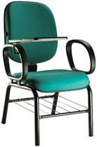 Cadeira Universitária Diretor Escamoteável Com Braço - Max