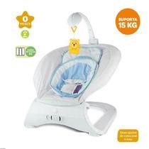Cadeira Vibratória De Descanso Menino Azul Bebê Até 15 Kg Zoop Toys -