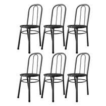 Cadeiras Para Cozinha Para Mesa De Jantar Conjunto 6 Cadeiras Julia WRM -