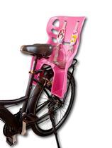 Cadeirinha Carona Bicicleta Bike Traseira Styll Disney - Encosto alto - Melhor cadeirinha nas avaliações -