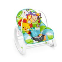 Cadeirinha de Descanso - Infant-to-Toddler Rocker - Macaquinho e Leão - Fisher-Price - Fisher price