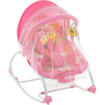 Cadeirinha de Descanso Infantil Safety1st Vibratória Musical Bouncer Sunshine Baby - Até 18 Kg - Pink Garden -