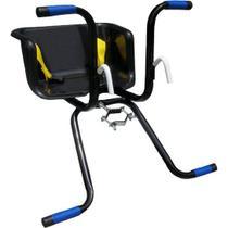 Cadeirinha dianteira para bicicleta  stilo basica, preta -