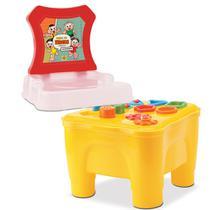Cadeirinha didatica mesa educativa turma da monica - Samba Toys