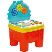 Cadeirinha Infantil 24 Peças Com Engrenagens E Peças Para Montar 2 em 1 Brinquedo - Dismat -