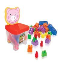 Cadeirinha Kidverte Pig Blocos - Big Star -
