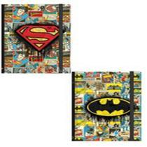 Caderneta Capa Dura Espiral DC Comics Sortida com 96 Folhas da Jandaia -