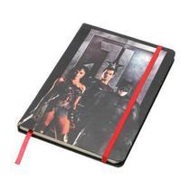 Caderneta de anotacao wb jl movie ww, superman, batman preto a5 14.8x1x21cm 100fls - Urban