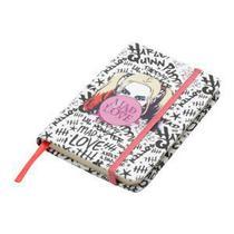 Caderneta de anotacao wb sq harley quinn mad love colorida a6 9.5x1x14cm 100fls - Urban