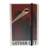 Caderneta de Anotações s/ pauta 100 fls Gotham City - Batman DC Comics - Urban