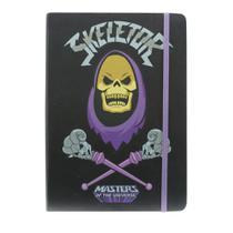 Caderneta de Anotações Skull com 100 Folhas A5 e Elástico - Urban