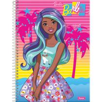 Caderno 01X1 Capa Dura 2021 Barbie Color Reveal 80FLS. - Foroni