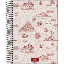 Caderno 1 Matéria Espiral Universitário 80fls Eco Way Jandaia -