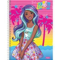Caderno 10X1 Capa Dura 2021 Barbie Color Reveal 160FLS. - Planeta Criança