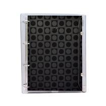 Caderno Argolado DAC Vision 1/4 Capa Pvc Preto 192 Fls 155mm X 225mm 2673Pr 28454 -