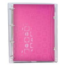 Caderno Argolado DAC Vision Capa PVC Rosa 192 Fls 2673 28455 -