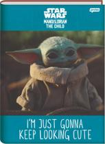 Caderno Brochura 1/4 C/D 80 Folhas Baby Yoda Jandaia -