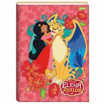 Caderno Brochura 1/4 Elena de Avalor 96 Folhas Jandaia -