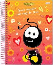 Caderno C/D 10 Materias Smilinguido Jandaia -
