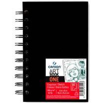 Caderno Canson A6 Artbook One Espiral C/80 Folhas -