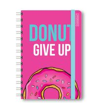Caderno Cd College (1X1) - Wire O - Off White - 80Fls - 70Gr. - Microserrilha - Bolso Duplo  - Bj - Container Fashion Donuts