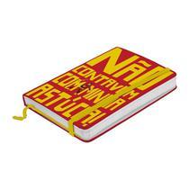Caderno de Anotações Vermelho 100 Folhas A6 Chapolin Urban -