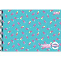 Caderno Desenho Milimetrado Espiral Pepper 80 Folhas - Tilibra