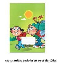 Caderno dna 1/4 broch linhas 48fl -