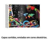 Caderno dna 1/4 cd esp desenho 60fl -